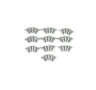 1953-1967 Corvette Aluminum Round Head Rivets (50 Pack)