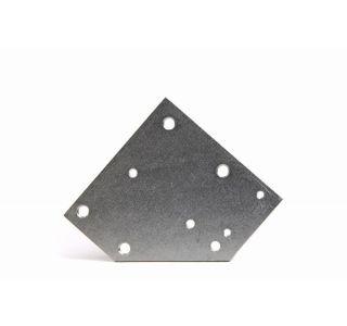53-57 Hood Female Lock Nut Plate
