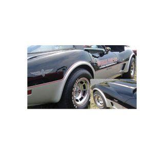 1978 Corvette Pace Car Decal Set