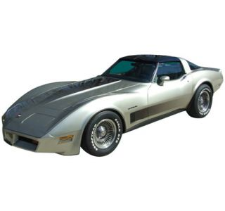 1982 Corvette Collector Edition Decal Set - Hood & Door Fade Decal Only