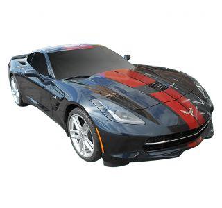 14-19 Coupe Full Length Racing Stripe Kit