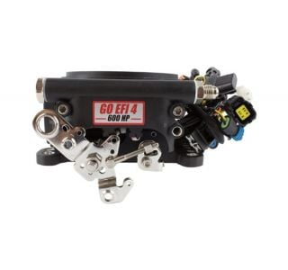 57-82 FiTech Go EFI 4 600hp Fuel Injection System (Matte Black)