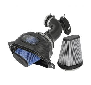 14-19 LT1 aFe Carbon Fiber Cold Air Intake System (Dual Media)