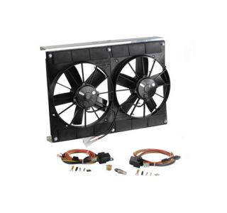 2005-2013 Corvette Dual Fan Cooling System Upgrade Kit