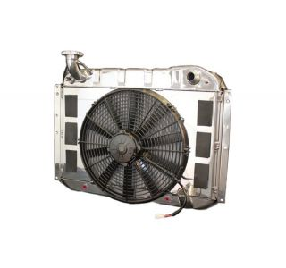 55-60 LS Conversion Direct Fit Aluminum Radiator & Fan Combo