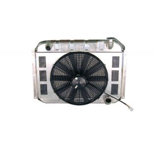 55-60 Direct Fit Aluminum Radiator & Fan Combo