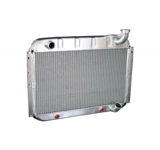 55-60 Direct Fit Aluminum Radiator w/Auto Trans Cooler