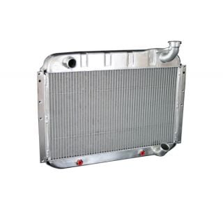 55-60 Direct Fit (HP) Aluminum Radiator w/Auto Trans Cooler