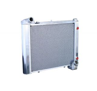 61-62 Direct Fit (HP) Aluminum Radiator w/Auto Cooler