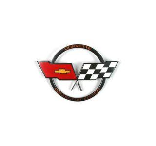 1982 Corvette Gas Door Emblem - Collector