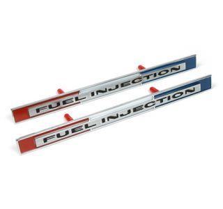 """1965 Corvette """"Fuel Injection"""" Side Emblems"""