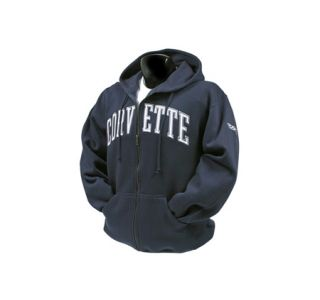 Full-Zip Applique Corvette Hooded Sweatshirt