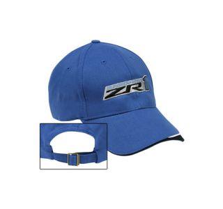 ZR1 Corvette Supercharged Blue Wave Cap