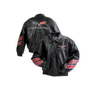 Grand Sport Black Leather Jacket