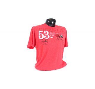 Corvette Cross Flags T-Shirt