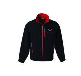 Mens C7 Corvette Matrix Soft Shell Jacket (Apparel Sizes)