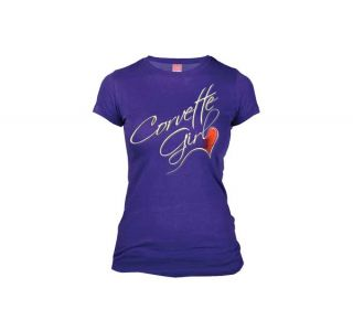 Corvette Heart Ladies Tee