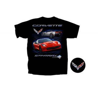 C7 Corvette Stingray Black T-Shirt