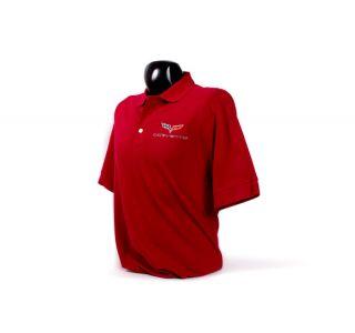 Men's C6 Corvette Cutter & Buck Tournament Polo Shirt