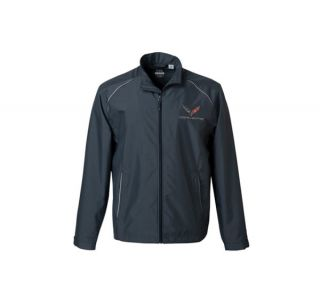 C7 Corvette Men's Under Armour Qualifier Quarter Zip Jacket