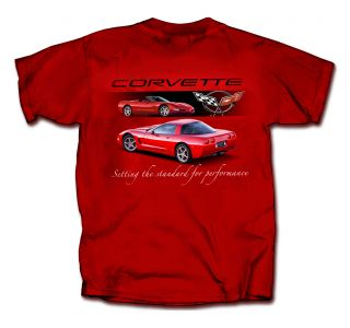 C5 Corvette Red T-shirt