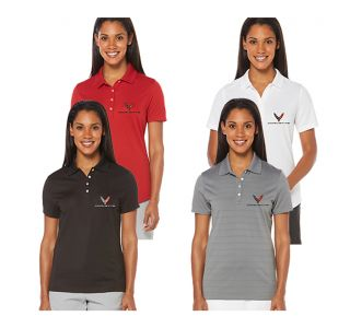 Ladies Next Generation Corvette Callaway Dry Core Polo Shirt