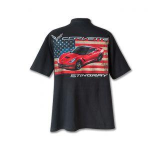 C7 Corvette Flag T-Shirt