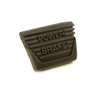 1963-1967 Corvette w/Manual Trans Brake Pedal Pad (Power Brake)