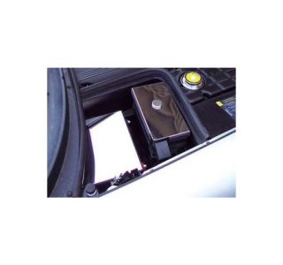 1997-2004 Corvette Stainless Fuse Box Cover w/Knob Cover
