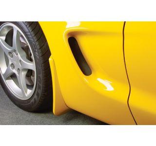 1997-2004 Corvette Altec Rear Splash Guards (Colors)
