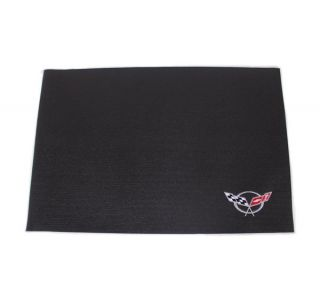 C5 Embroidered Fender Mat