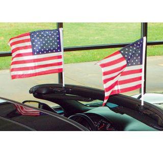 1984-1986 Corvette Cpe Flag Caddie