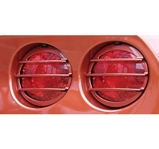 2005-2013 Corvette Altec Phantom Tail Light Grills