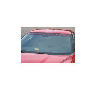 """2005-2013 Corvette """"Corvette"""" Windshield Decal"""