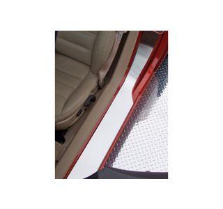 2005-2013 Corvette Stainless Door Sill Protectors