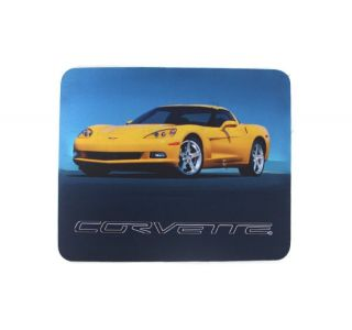 Yellow C6 Mouse Pad
