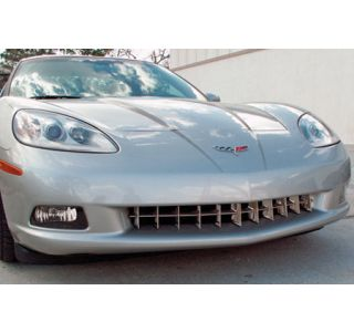 2005-2013 Corvette Retro-Style Polished Stainless Grill