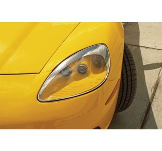 2005-2013 Corvette Headlamp Eyebrow Molding Kit