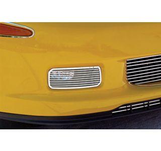 2006-2013 Corvette Z06/GS Stainless Driving Light Covers