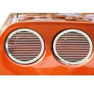 05-13 Stainless Billet Style Tail Light Grills