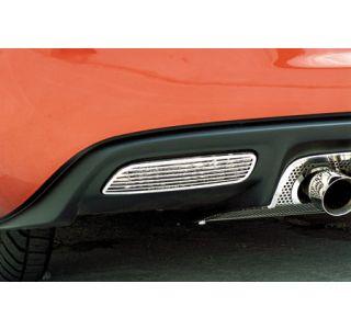 2005-2013 Corvette Stainless Back-Up Light Covers