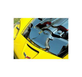 2006-2007 Corvette Z06 LS7 Stainless Radiator Cover