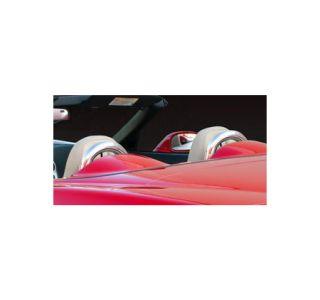 2005-2013 Corvette Conv Chrome Seat Back Bars