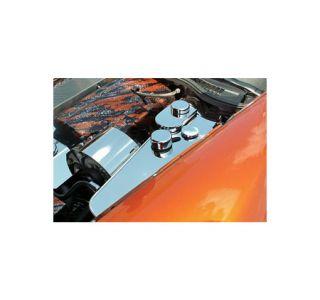 2005-2013 Corvette Stainless Coolant Tank Cover & Caps w/Auto Trans