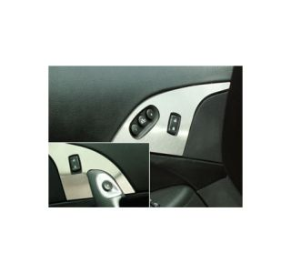 2005-2013 Corvette Stainless Door Lock Trim Plates w/Seat Memory Option