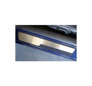 2005-2013 Corvette Stock Door Sill Stainless Overlays