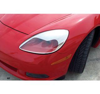 """2005-2013 Corvette Headlight """"Agressive"""" Eyebrow Kit"""