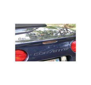 1997-2004 Corvette 5th Brake Light Grill - Billet Style Stainless
