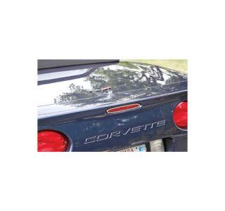 1997-2004 Corvette 5th Brake Light Grill - Ring Style Stainless