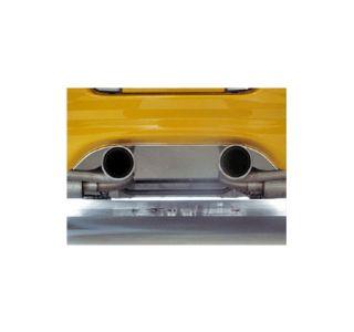 "1997-2004 Corvette Exhaust Filler Panel - Borla w/Dual 4"" Round Tips"
